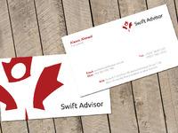 Swift Advisor - Business Card