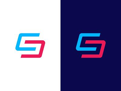 CS Monogram magnet effendy monogram icon logotype letter cs cs logo design logo design identity branding negative space logo logo cs logomark