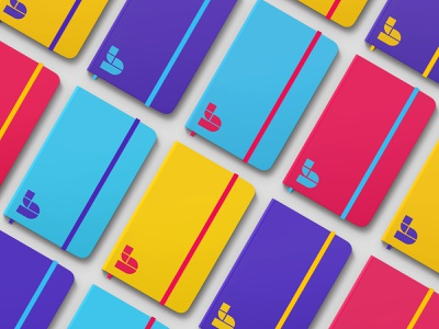Breadcrumb - Case Study ✨ branding logo design lego color geometric pattern print square geometry abstract breadcrumb colorful shape building block pattern design effendy learningapp symbol mark logo