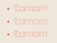 Tamam Logotype Options