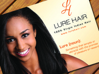 Lure Hair Flyer Front - WIP