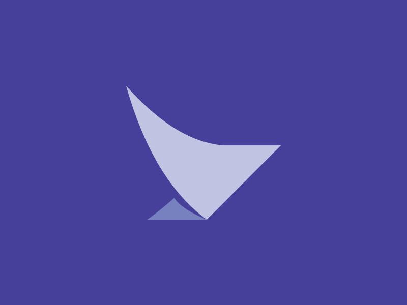 Birdy app accounting identity logo design bird logo effendy mark wings design abstract