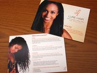 Lure Hair Printed Flyer