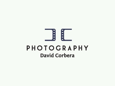 David Corbera Photography photography ali effendy logo logos monogram mark ambigram dc d c david corbera david corbera royal purple film strip reel