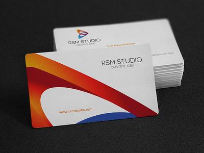 Rsm studio business card by muhammad ali effendy dribbble rsm studio business card colourmoves Choice Image