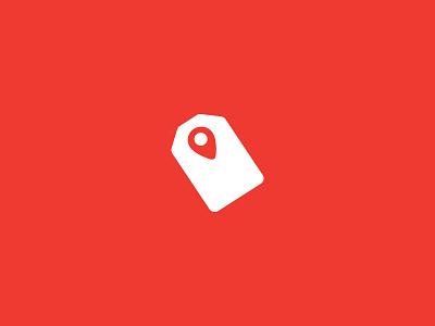 Price Tag + Pin location pin pin effendy ali identity logo concept shopping tag price pricetag