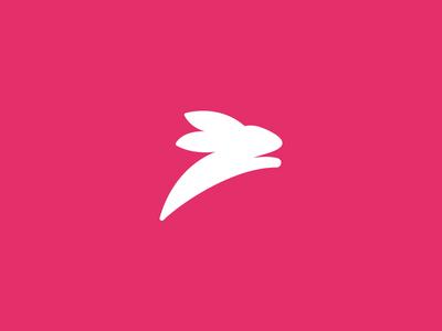 Rabbit Logomark bunny animal effendy ali fast symbol mark logo rabbit