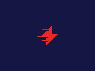 Fast Bolt  lightening logo effendy ali symbol mark power blog tech lines bolt fast