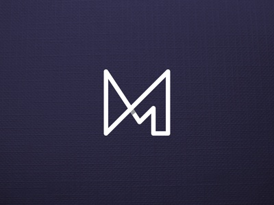 M1 Monogram ali effendy identity branding symbol letter mark logo monogram one 1 m