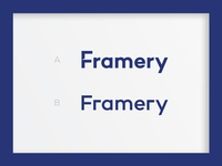 Framery Logotype Options