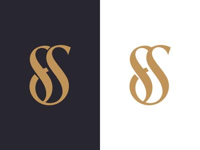 FS Monogram  monogram sf interior designer ali interior design effendy firm logo logo design