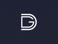 Dg monogram dribbble