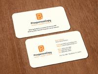 Prosperouscopy biz card mockup