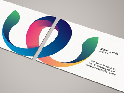 Weway media 1st biz card preview