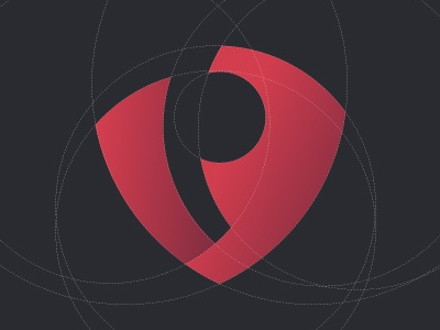 VP vp v p abstract mark symbol shield initials uae general trading effendy logo ali guidelines