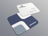 Bitmoon biz card mockup