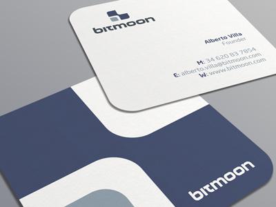 Bitmoon business card by muhammad ali effendy dribbble bitmoon biz card dribbble colourmoves