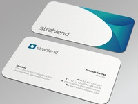 Strahlend Business Card
