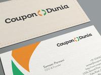 CouponDunia Business Card