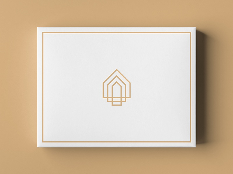 House Logomark house logo startup logo startup giftshop brand identity house gift box islamic maison luxury effendy branding packaging abstract identity mark symbol logo logomark