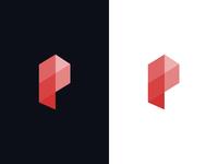 P logomark