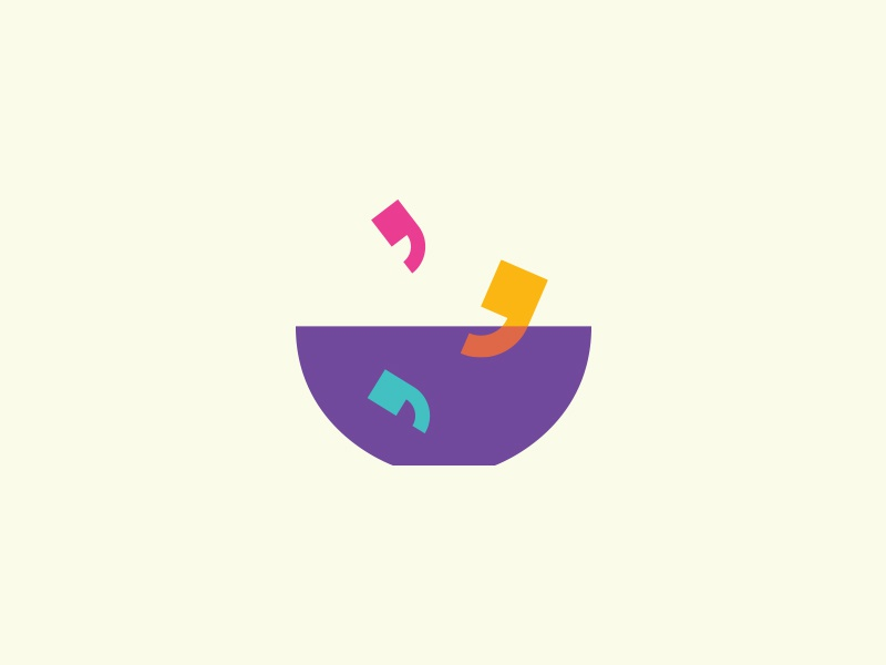 Quotes + Bowl Logomark illustration colorful eating quotation soup talking bowl smart creative concept identity startup quote dinner talk symbol icon branding mark logo