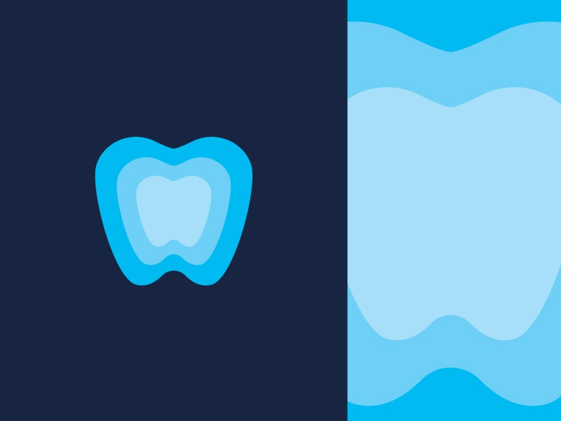Tooth logomark brand deep teeth heart minimal branding canada logo logo design core transparency symbol logomark dental clinic dental tooth