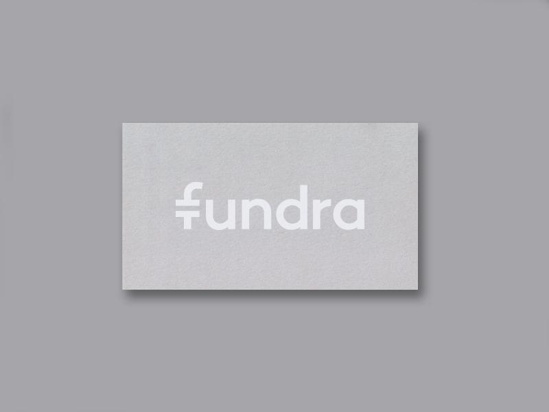 Fundra - Wordmark equal logotype wordmark typography currency startup startup logo fundraiser nonprofits funding finance app finance business card branding identity logo