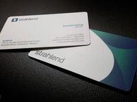 Strahlend biz card large view