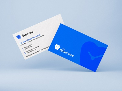 It's Dental Time - Business Card