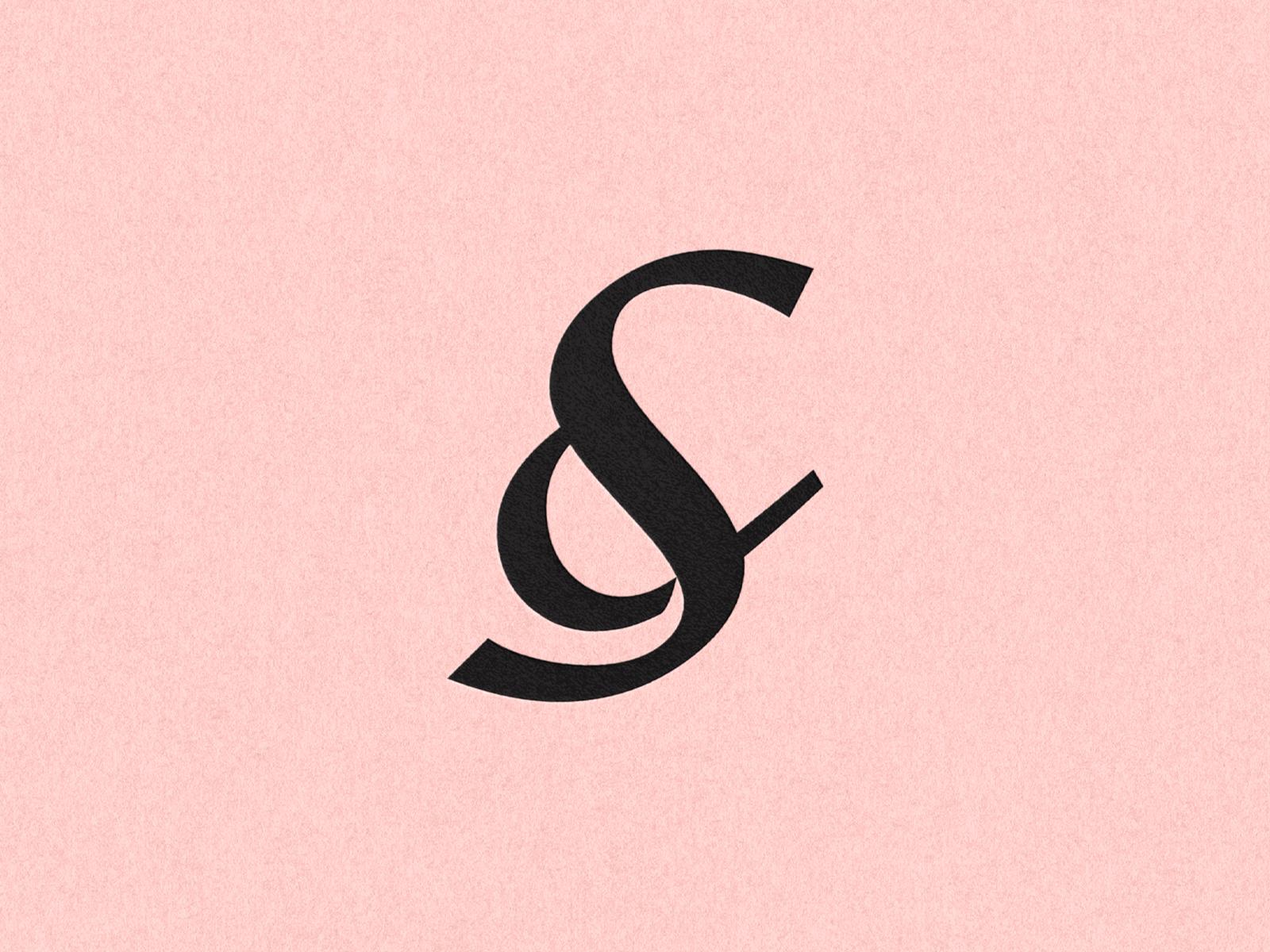 S ampersand logomark dribbble