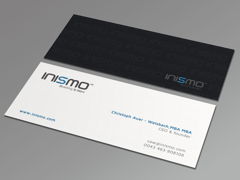 INISMO Business Card by Muhammad Ali Effendy - Dribbble