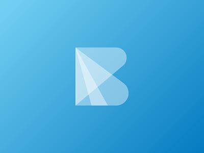 B logomark brand identity marketing agency identity design branding gradient dubai uae letter b b logo initial logo transparency monogram logomark effendy