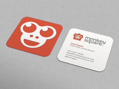 monkeysquare biz card dribbble