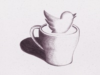 Mug Icon Sketch