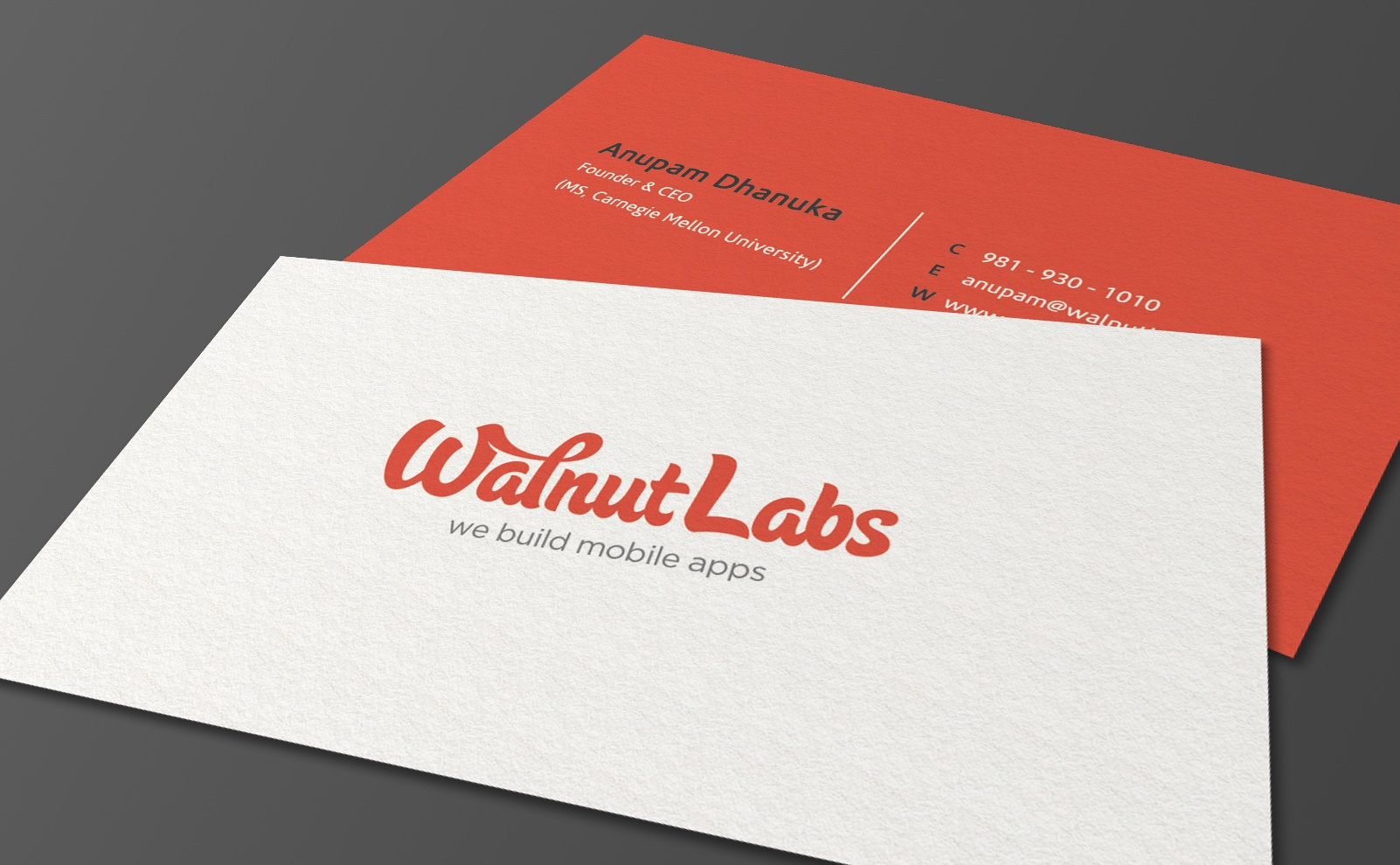Muhammad ali effendy projects business cards dribbble wallnut labs biz card mockup colourmoves