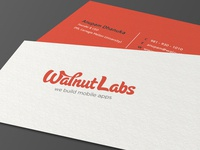 Walnut Labs Business Card