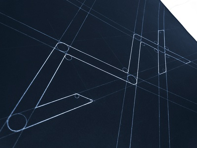 AVX avx medium construction grids guidelines guide ali effendy weway blueprint beam branding brand identity typography circles guideline rio de janeiro brasil brazil