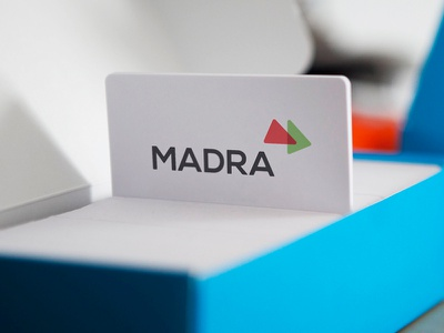 MADRA madra web ali effendy logo businesscard visiting card branding visual identity internet development web design abstract business card