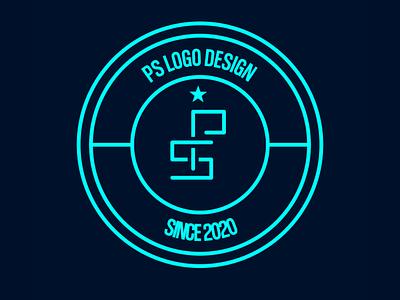 PS LOGO EMBLEM tipography inkscape design emblem logo