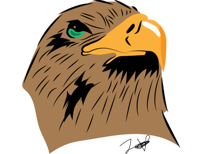 EAGLE draw eagle design illustration