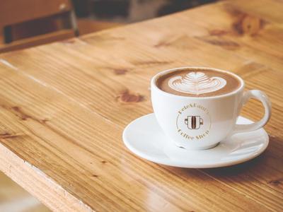 Pete&Paul's Coffee Shop coffeeshop coffeecup coffee cup logo design branding graphicdesign photoshop