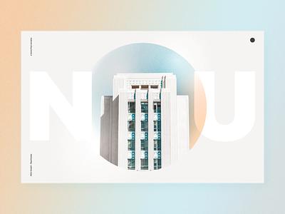 NOU Real Estate - UI/UX Design - Webdevelopment immobilien makler realestate graphic design construction gradient housing real estate ui design webdesign ux