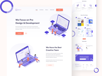 Agency Landing page creative landing page design creative landing page website ui design website ui web design ux design ui design modern landing page minimal ui minimal landing page landing page design landing page creative agency clean ui agency website agency landing page