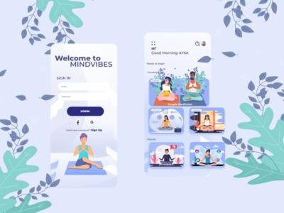 Mindvibes meditation app