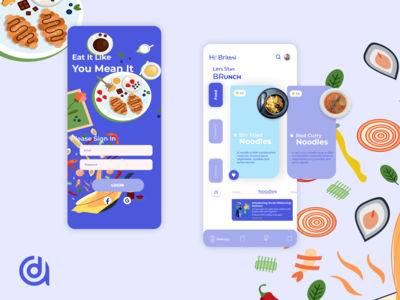 Food and Grocery ordering app
