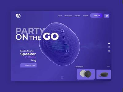 Moon Stone Speaker