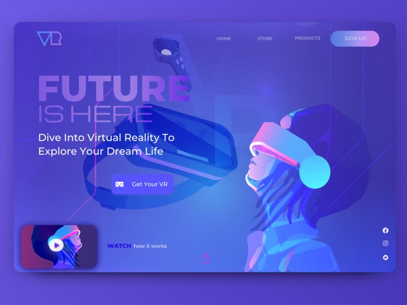 VR Explore Concept