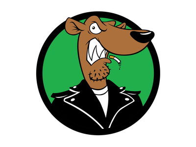 Reimagined Screeching Weasel logo illustration character design digital art punk rock scene punkrockbands punkrock screeching weasel screeching weasel branding design logo vector illustration vector art