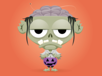 Trick or Treat Day 18 - Zombie
